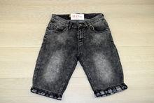 Мъжки къси дънки - M.SARA  - тъмно сиви размери от 30 до 42