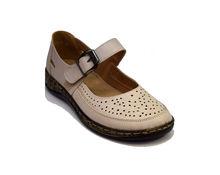 Ортопедични дамски обувки - 6692 - бежови