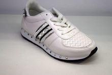Дамски маратонки - 8013 - бели