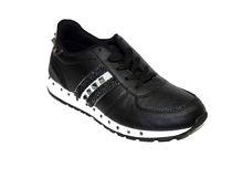 Дамски маратонки - 8013 - черни