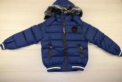 Зимно яке тъмно синьо - 9008 - за момчета от 8 до 16 г.