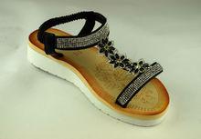 Комфортни дамски сандали - А 2836 - черни