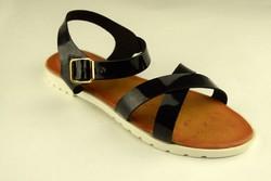 Дамски сандали ниски - А 2848 - черни