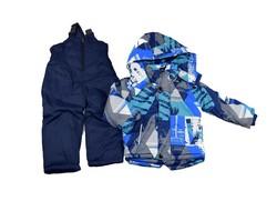 Зимен комплект за момчета от 3 до 8 г. - син
