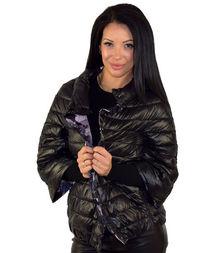 Дамско яке с две лица сезон пролет - есенно  - черно