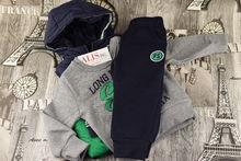 Спортен комплект с дълъг ръкав за момчета от 1 до 3г. - 706 -