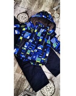 Детски зимен комплект за момче от 3 до 8 г.-D 23